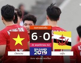 Báo Thái Lan khen ngợi Đức Chinh sau khi ghi 4 bàn vào lưới Brunei