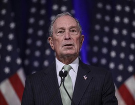 """Tỷ phú Bloomberg: """"Ông Trump tái đắc cử sẽ là mối đe dọa lớn"""""""