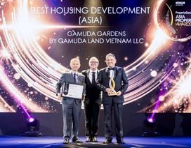 "Gamuda Gardens được vinh danh ""Best Housing Development"" tại Asia Property Awards 2019"
