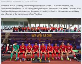 CLB Heerenveen chúc mừng Văn Hậu và U22 Việt Nam