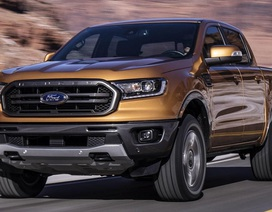 Triệu hồi 78.000 chiếc Ford Ranger vì lỗi đèn hậu