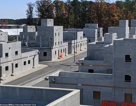 Mỹ xây thành phố mô phỏng toàn thế giới để huấn luyện đặc vụ
