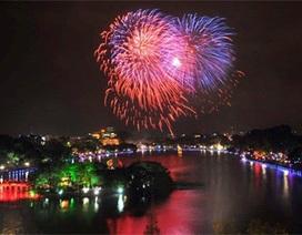 Hà Nội bắn pháo hoa 30 quận, huyện dịp Tết Nguyên đán