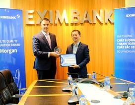 JP Morgan Bank trao giải thưởng Thanh toán quốc tế xuất sắc cho Eximbank