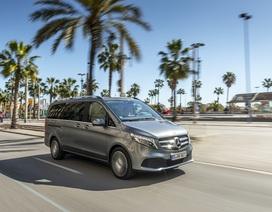 Mercedes-Benz ra mắt mẫu xe đa dụng V-Class nâng cấp tại Việt Nam
