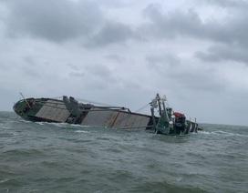 Cứu thành công 18 thuyền viên nước ngoài gặp nạn trên biển Hà Tĩnh