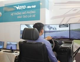 Lần đầu tiên Việt Nam có hệ thống mô phỏng đào tạo lái xe ô tô chuẩn quốc tế do Viettel sản xuất