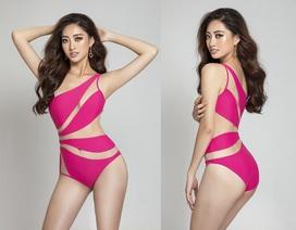 Lương Thùy Linh khoe vẻ đẹp sexy với bikini phá cách