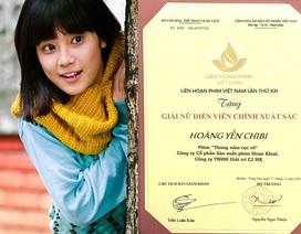 Vì sao Hoàng Yến Chibi không đến nhận cúp Bông Sen Vàng?