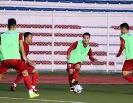 """HLV Park Hang Seo chưa cần đến """"dao mổ trâu"""" Quang Hải ở trận gặp Lào"""