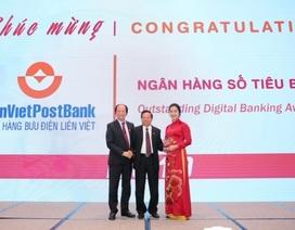"""LienVietPostBank được vinh danh giải thưởng """"Ngân hàng số tiêu biểu 2019"""""""