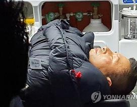 Nghị sĩ Hàn Quốc nhập viện vì tuyệt thực 8 ngày trước phủ tổng thống