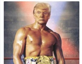 Ảnh ghép ngực trần của ông Trump gây xôn xao