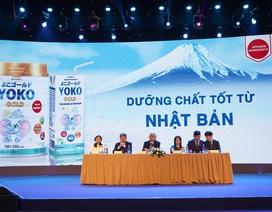 Vinamilk tự hào ứng dụng dưỡng chất tốt từ Nhật Bản vào sản phẩm siêu cao cấp Vinamilk Yoko Gold
