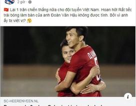 Heerenveen chúc mừng U22 Việt Nam, tiếc vì Văn Hậu bị từ chối bàn thắng