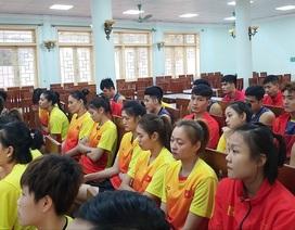 Ba đội bóng chuyền Việt Nam được tiếp lửa trước SEA Games