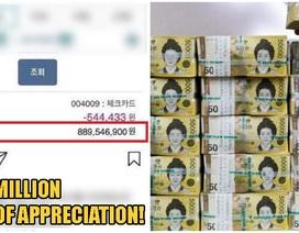 Cho người lạ vay 6 triệu, bất ngờ được trả… 15,5 tỷ đồng thay lời cảm ơn