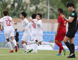 Đội tuyển nữ Việt Nam được thưởng 1 tỷ đồng sau trận thắng Indonesia