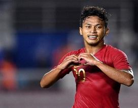 """""""Người hùng"""" Osvaldo khẳng định U22 Indonesia không ngủ quên trên chiến thắng"""
