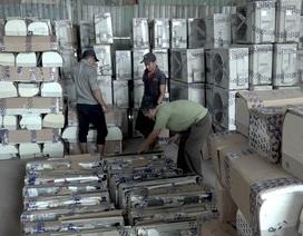 Phát hiện kho chứa 300 bộ máy lạnh nhập lậu từ Campuchia