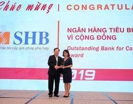 """SHB được vinh danh là """"Ngân hàng Việt Nam tiêu biểu năm 2019"""""""