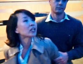 Phóng viên Trung Quốc lãnh án vì tát nhà hoạt động tại Anh