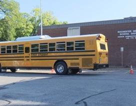 Thành phố đầu tiên của Mỹ thử nghiệm xe bus trường học chạy bằng điện