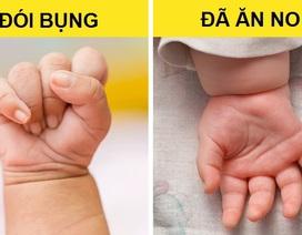 """Mách bố mẹ cách """"giải mã"""" ngôn ngữ cơ thể và tiếng khóc của trẻ sơ sinh"""