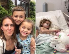 Bà mẹ chết lặng khi biết con gái nhỏ trở nên cáu kỉnh bất thường là vì…ung thư