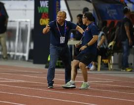 Cảm xúc đặc biệt của HLV Park Hang Seo trong trận đấu với U22 Indonesia