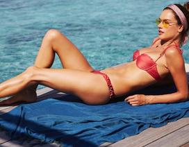 Alessandra Ambrosio vẫn đẹp nuột nà ở tuổi 38