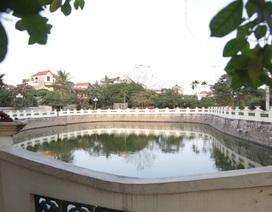 Cụ ông 74 tuổi bỏ 1,8 tỷ đồng cải tạo ao làng hôi thối thành công viên