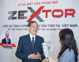 Khám phá sức mạnh của Tang phiêu tiêu - Tổ bọ ngựa trong sản phẩm Viên sủi Zextor