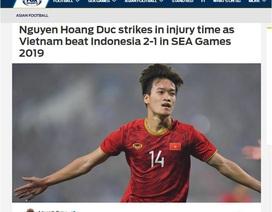 """Báo châu Á: """"Hoàng Đức đã khiến trái tim người Indonesia tan vỡ"""""""