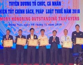 Suntory PepsiCo Việt Nam liên tiếp 3 năm nằm trong Top 100 doanh nghiệp nộp thuế thu nhập doanh nghiệp cao nhất