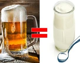 Trong bia cũng chứa nhiều vi khuẩn có lợi như sữa chua