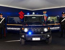 Đến lượt cảnh sát Italy chọn Suzuki Jimny làm xe tuần tra
