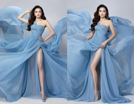 Lương Thùy Linh bật mí chiếc váy sẽ mặc thi Top Model
