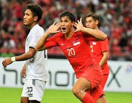 Đâu là cầu thủ nguy hiểm nhất của U22 Singapore, có thể đe dọa U22 Việt Nam?