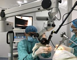 Cứu bệnh nhân ung thư hạ họng, thanh quản giai đoạn sớm nhờ kỹ thuật mới