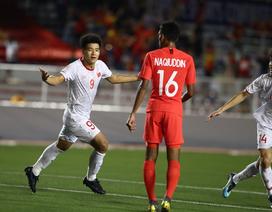 U22 Việt Nam 1-0 U22 Singapore: Đức Chinh ghi bàn quý giá