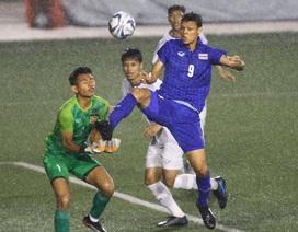 Báo Thái Lan thở phào sau khi thắng Lào, lo lắng bất lợi trước khi đấu U22 Việt Nam