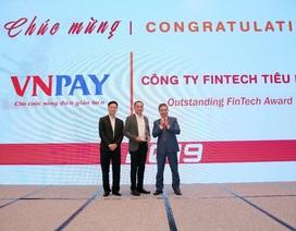 VNPAY vinh dự nhận giải thưởng công ty Fintech tiêu biểu năm 2019