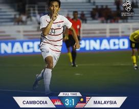 Báo Campuchia vui mừng khôn xiết sau kỳ tích của đội nhà tại SEA Games