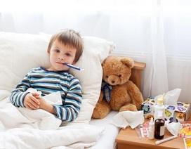 Lưu ý khi chăm sóc trẻ bị sốt trong mùa lạnh