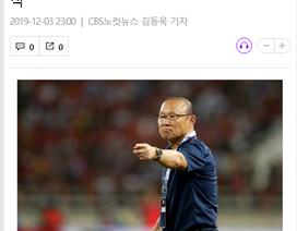 """Báo Hàn Quốc: """"HLV Park Hang Seo kích hoạt phép thuật kịp thời"""""""