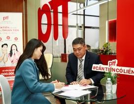 PTF mang đến trải nghiệm tài chính mới với sản phẩm cho vay lên đến 100 triệu đồng