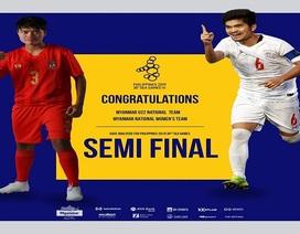 Vào bán kết SEA Games, Myanmar nhận số tiền thưởng khổng lồ
