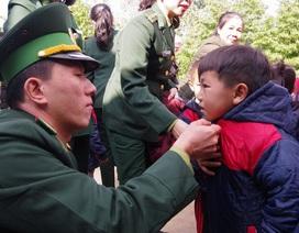 Hình ảnh người chiến sĩ biên phòng trên mọi mặt trận