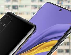 Rò rỉ hình ảnh Samsung Galaxy A51 với mặt trước giống Note 10